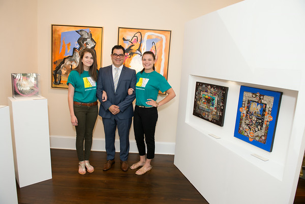 "All We Art is a new art gallery located in Georgetown's Book Hill Park at 1666 33rd St NW.  On Thursday, June 26th, they hosted a private opening of ""Tierra de Gracia, Land of Grace"" featuring Venezuelan contemporary art. Photo by Ben Droz."